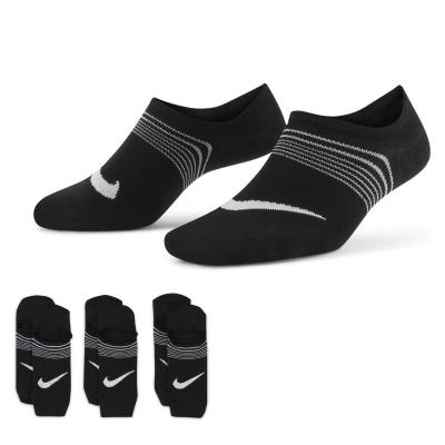 Sosete Nike Everyday Plus Lightweight antrenament negru alb
