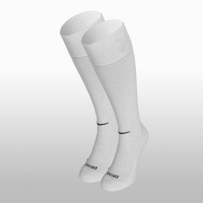 Jambiere albe pentru fotbal SX4120-101 Nike Academy