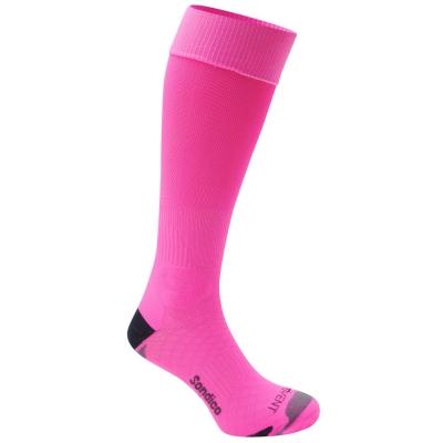 Sosete Sondico Elite fotbal pentru Copii fosforescent roz