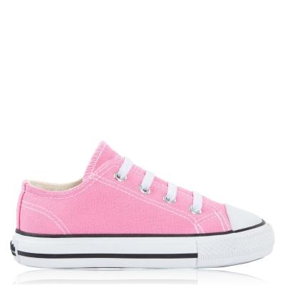 Tenisi din Panza SoulCal Low pentru Bebelusi roz