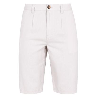 Pantaloni scurti SoulCal Linen pentru Barbati maro deschis