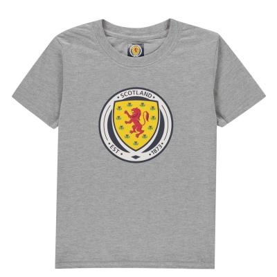 Tricou Source Lab Scotland Juniors gri