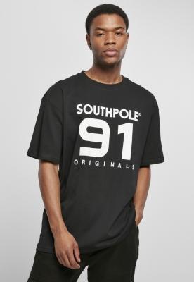 Southpole 91 Tee negru