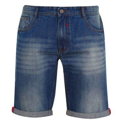 Pantaloni scurti blugi Soviet pentru Barbati albastru