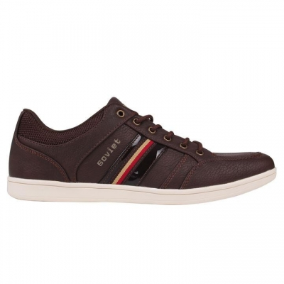 Soviet Whitehall Shoes negru alb