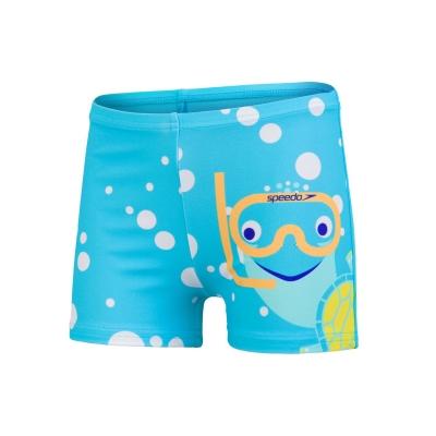 Speedo Turtle Aquashort albastru galben