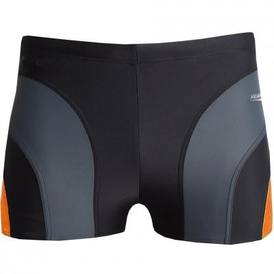 Pantaloni de inot AQUA-SPEED SASHA negru / gri portocaliu 310/2406
