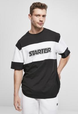 Starter Block Jersey negru-alb