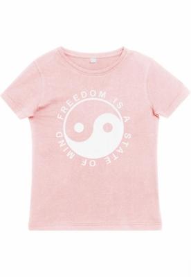 State Of Mind Tee pentru Copii roz Mister Tee