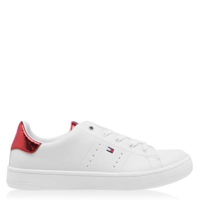 Steag Adidasi sport Tommy Hilfiger Lace alb rosu x010