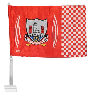Steag Official Cork GAA Car rosu alb