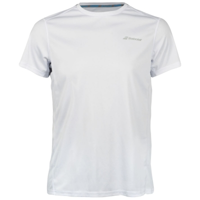 Steag Tricou Babolat Core Club pentru Barbati alb