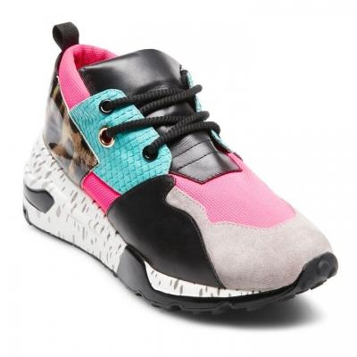 Adidasi sport Steve Madden Cliff Bright roz multicolor