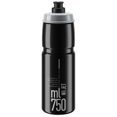 Sticla de Apa Elite Jet Biodegradable - 750ml negru gri
