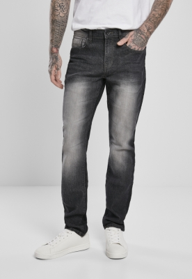 Stretch Basic Denim Skinny Fit negru-washed Southpole