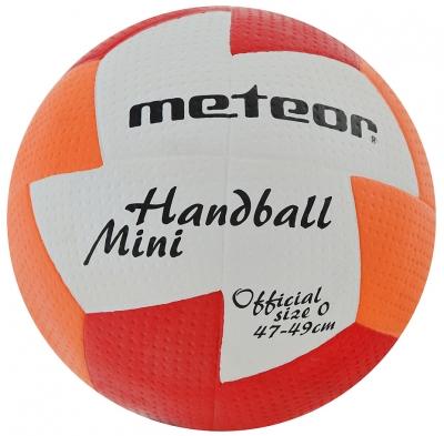 Minge de handbal METEOR NU AGE MINI 0 rosu / portocaliu 4071