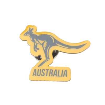 Team Rugby Pin Badge