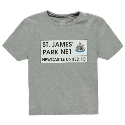 Tricou Team St James Park pentru baietei gri