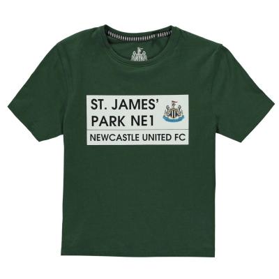 Tricou Team St James Park pentru baietei verde