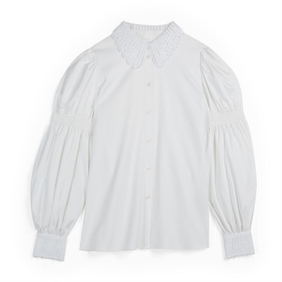 Camasi cu maneca lunga Ted Baker Briona alb