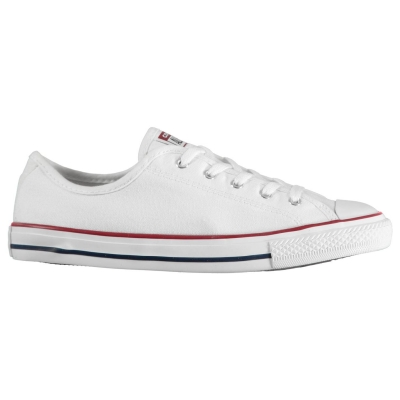 Tenisi din Panza Converse Lifestyle AS Dainty Low Cut alb