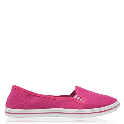 Tenisi fara siret Slazenger pentru Femei roz fucsia