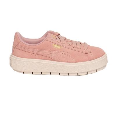 Tenisi femei puma platform trace roz pastel