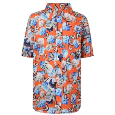 THOMAS ROYALL Butterfly Shirt pentru baieti pentru Copii portocaliu