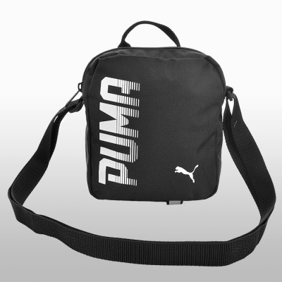 Geanta mica neagra Puma Pioneer Portable unisex