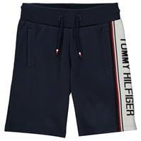 Pantaloni scurti Tommy Hilfiger Tommy Intarsia bleumarin c87
