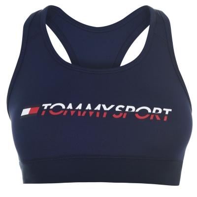Tommy Sport High Support Bra bleumarin