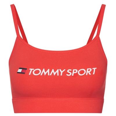 Tommy Sport Low Support Bra rosu