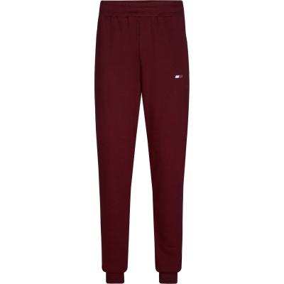 Bluze Pantaloni jogging Tommy Sport Cuff vlp deep rosu