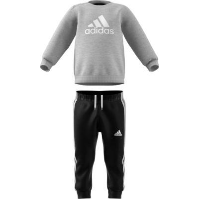 Trening adidas Badge of Sport pentru Copii gri negru alb