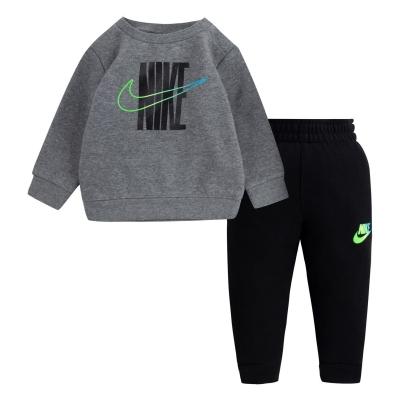 Trening Fleece Nike BB14 negru gri