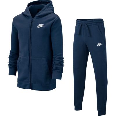 Trening Nike pentru baietei bleumarin alb