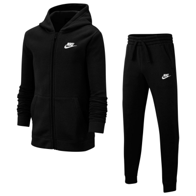 Trening Nike pentru baietei negru alb