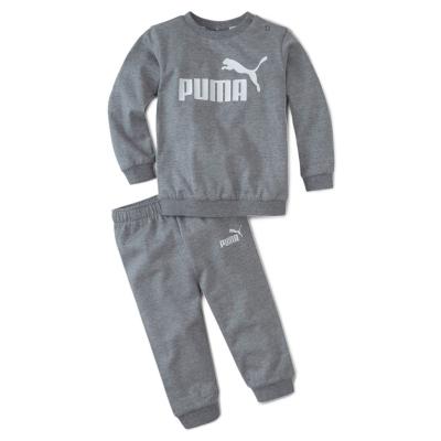 Trening Puma Crew pentru baieti pentru Bebelusi med gri deschis