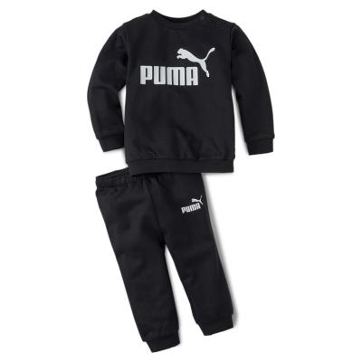 Trening Puma Crew pentru baieti pentru Bebelusi negru alb