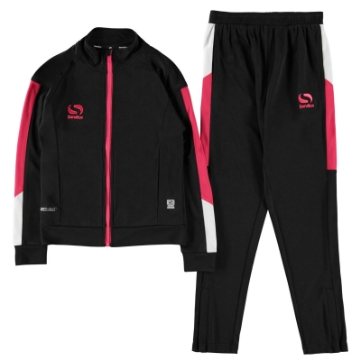 Trening Sondico Strike pentru fetite negru roz