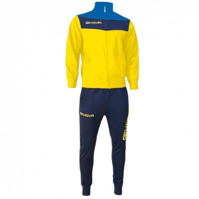 Trening sport TUTA CAMPO Givova galben albastru