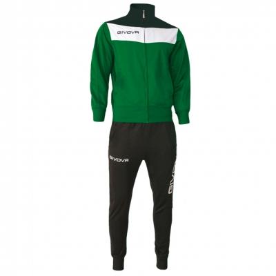 Trening sport TUTA CAMPO Givova verde negru