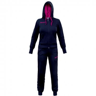 Trening sport TUTA Givova pentru Femei albastru roz fucsia