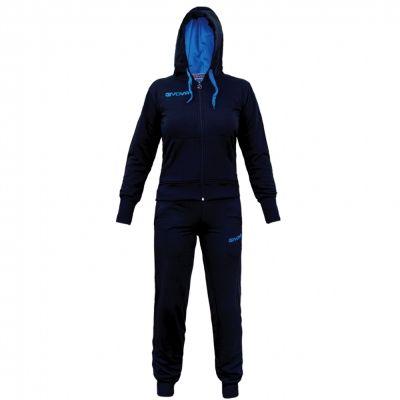 Trening sport TUTA Givova pentru Femei albastru turcoaz