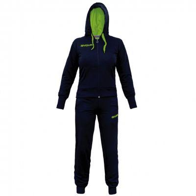 Trening sport TUTA Givova pentru Femei albastru galben fosforescent