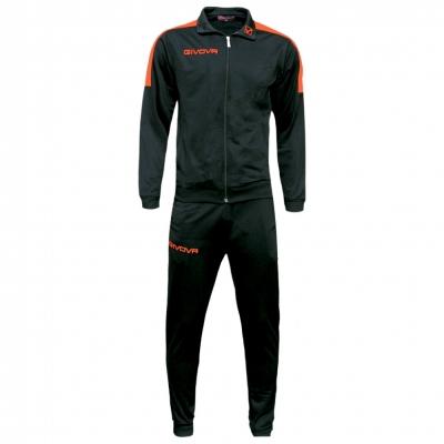 Trening sport TUTA REVOLUTION FLUO Givova negru portocaliu fosforescent