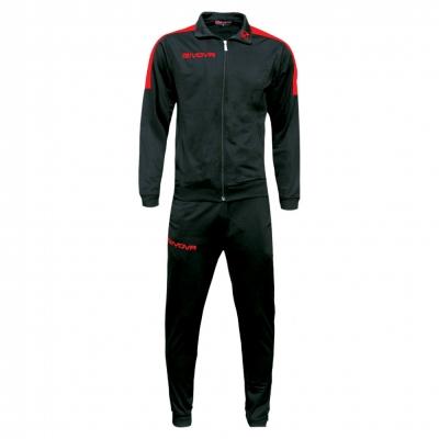Trening sport TUTA REVOLUTION Givova negru rosu