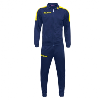 Trening sport TUTA REVOLUTION Givova albastru galben