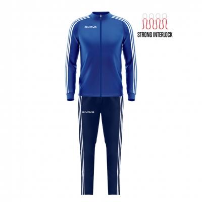 Trening sport TUTA REVOLUTION SUMMER Givova albastru