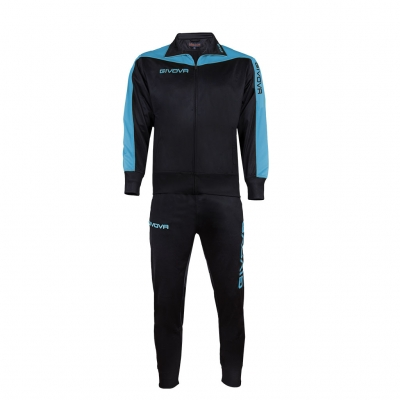 Trening sport TUTA ROMA Givova negru albastru